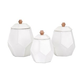 Trisha Yearwood Songbird Geometric Canisters - Set of 3
