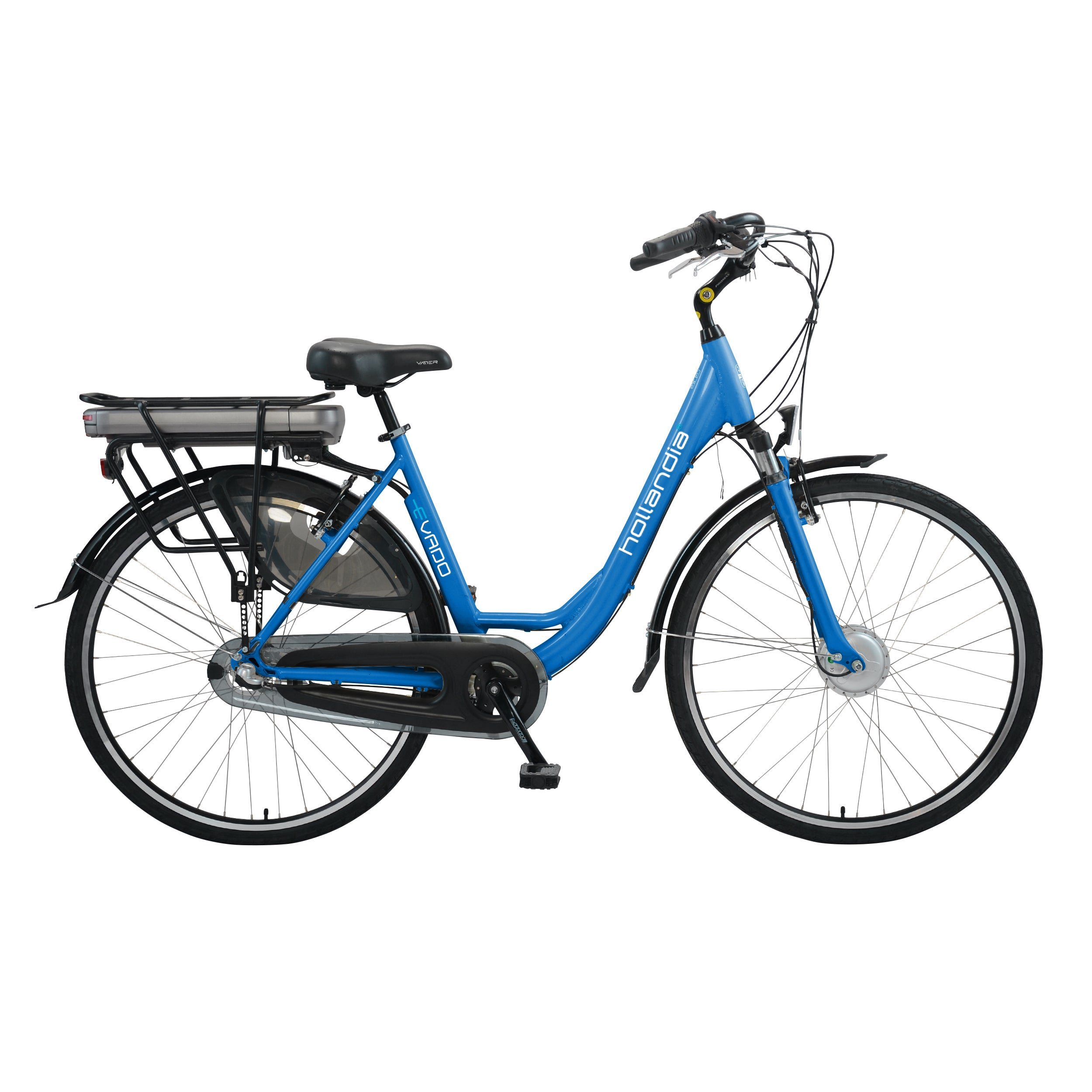 Hollandia Electric City Commuter Bicycle (Blue, 3 Speed, ...