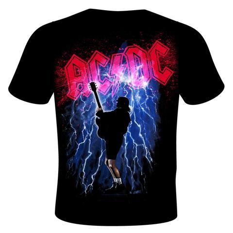 Stephen Fishwick AC/DC 'Thunderstruck' Black Cotton T-shirt