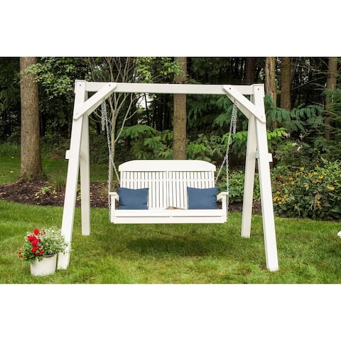 Outdoor 4' Highback Porch Swing