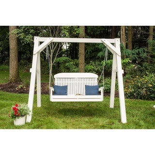 Poly 4 Foot Classic Highback Outdoor Porch Swing
