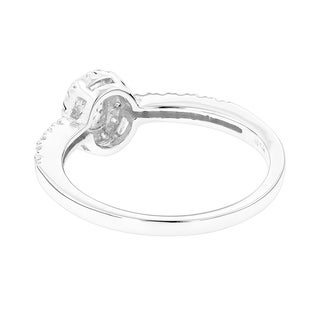 Luxurman 14k Gold 1/2ct TDW Diamond Unique Engagement Ring (More options available)