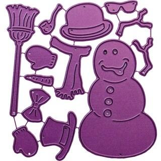 """Cheery Lynn Designs Die-Build-A-Snowman, .625"""" To 2.75"""""""
