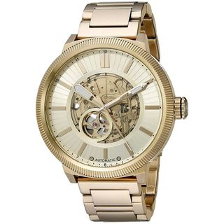 Armani Exchange Men's AX1417 'Street' Automatic Gold-Tone Stainless Steel Watch