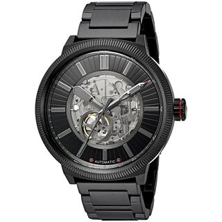 Armani Exchange Men's AX1416 'Street' Automatic Black Stainless Steel Watch