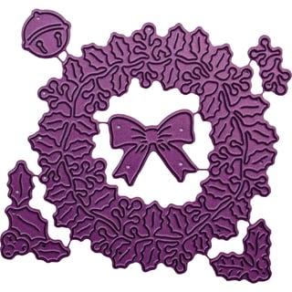 "Cheery Lynn Designs Die-Christmas Wreath, .625"" To 3.125"""