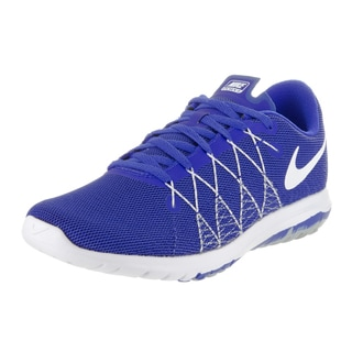 Nike Kid's Blue Flex Fury Running Shoe