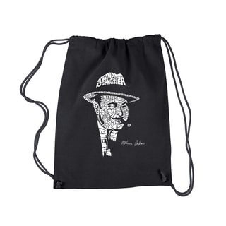 LA Pop Art Al Capone Original Gangster Drawstring Backpack
