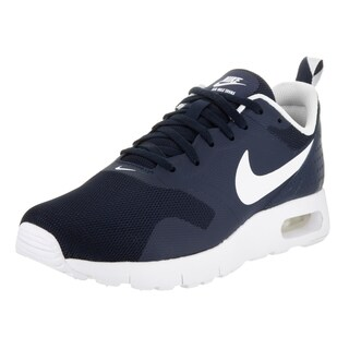 Nike Kids' Air Max Tavas (GS) Blue Synthetic Leather Running Shoe