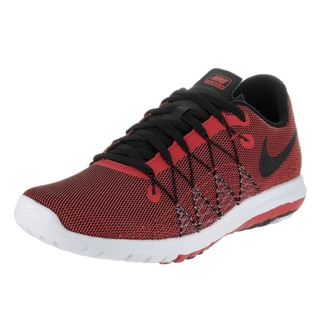 Nike Kids' Flex Fury 2 (GS) Red Textile Running Shoe