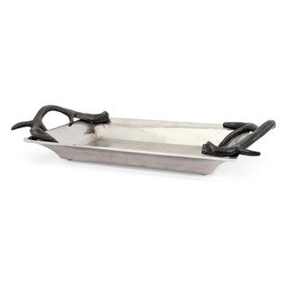 Trisha Yearwood New Frontier Aluminum Tray with Horn Handles