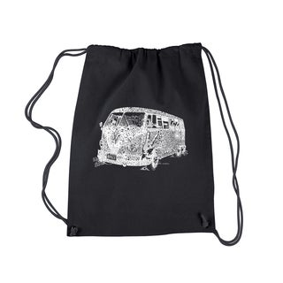 Los Angeles Pop Art The '70s Drawstring Backpack