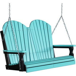 Poly 4 Foot Adirondack Outdoor Porch Swing
