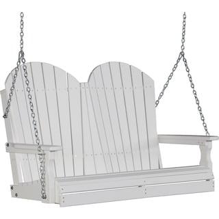 Poly 4 Foot Adirondack Outdoor Porch Swing