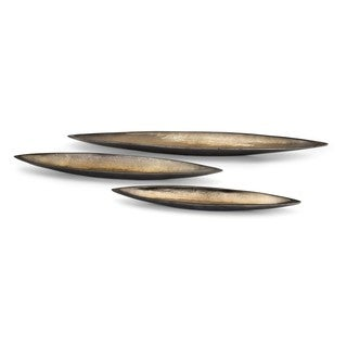 Trisha Yearwood New Frontier Decorative Oblong Trays - Set of 3