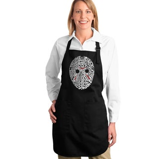 Los Angeles Pop Art Slasher Movie Villians Full-length Apron
