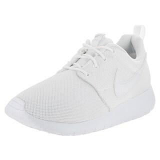 Nike Kids' Roshe One (GS) White Running Shoe