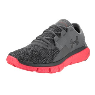 Under Armour Women's UA Speedform Fortis 2 Txtr Grey Textile Running Shoes