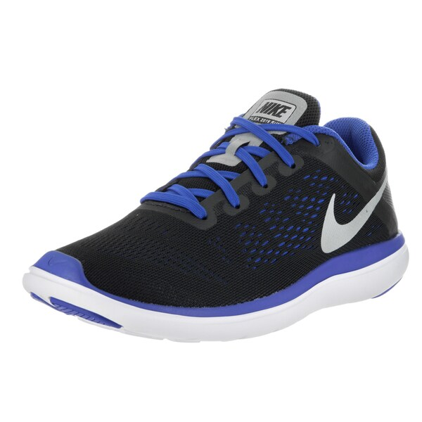 fba93f208a1 Shop Nike Kids  Flex 2016 Rn (GS) Black Running Shoe - Free Shipping ...