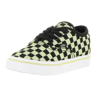 Vans Toddlers Authentic (Glow Check) Skate Shoe
