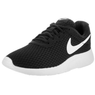 nike tanjun running shoes black nz