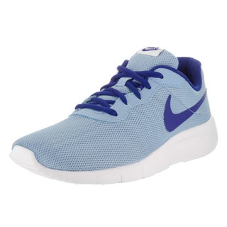 Nike Kid's Tanjun (GS) Blue Fabric Running Shoes
