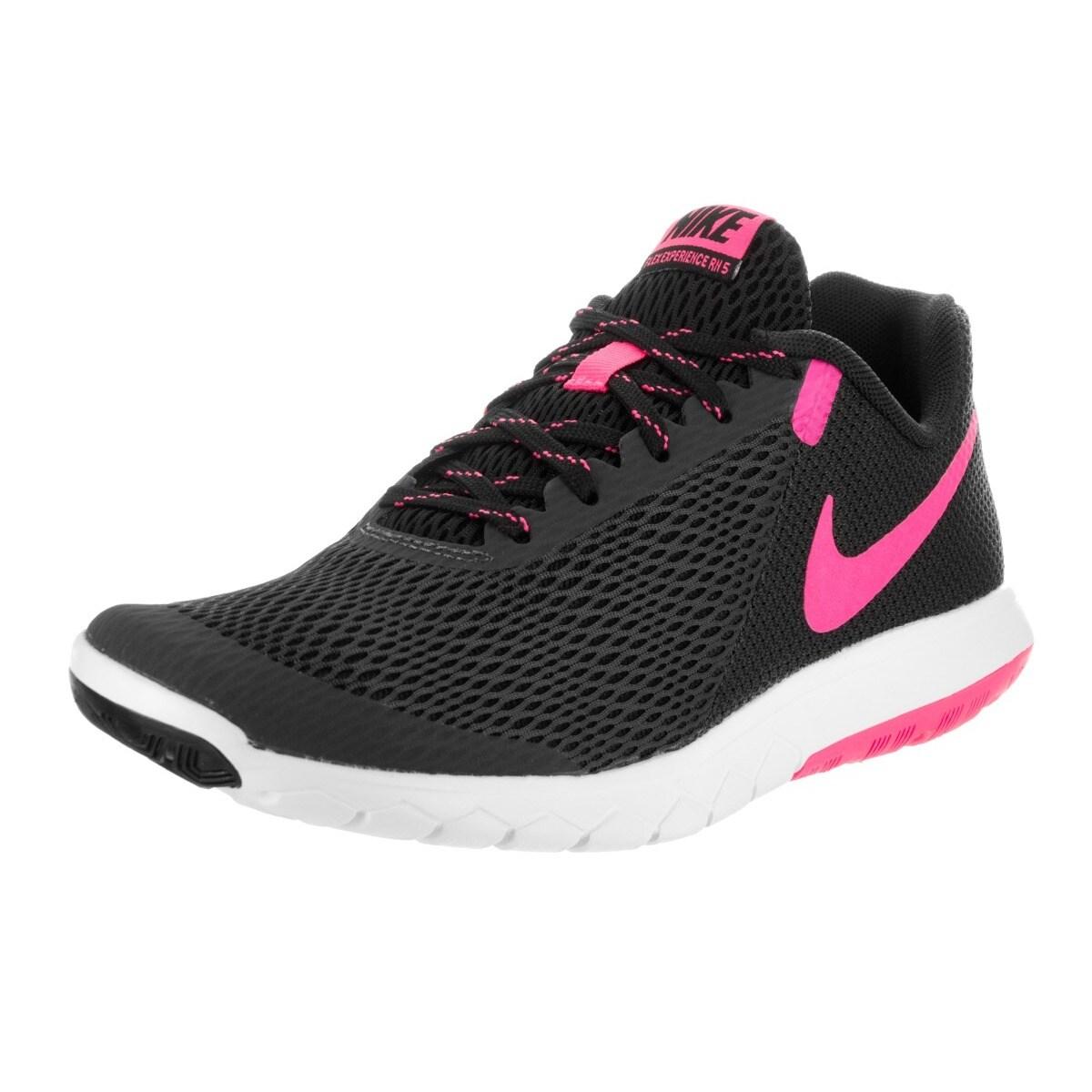 Nike Women's Flex Experience Run 5 Black Mesh Running Sho...