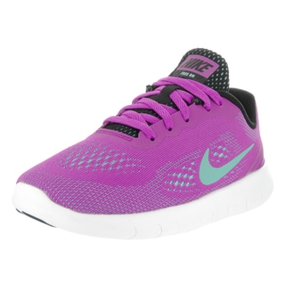 Nike Kids' Free Run (PS) Purple Running Shoes