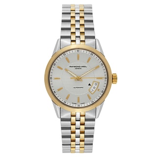 Raymond Weil Freelancer Stainless Steel and Yellow Gold PVD Coated Men's Mechanical Watch