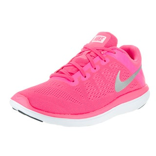 Nike Kids Flex 2016 Rn (GS) Pink Running Shoes