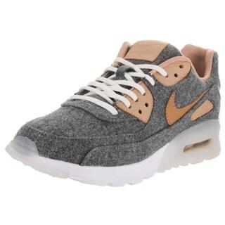 Nike Women's Air Max 90 Ultra Grey Wool Premium Running Shoes