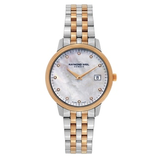 Raymond Weil Ladies' Goldtone/Silvertone Watch