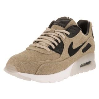 Nike Women's Air Max 90 Ultra Prm Beige Wool Running Shoes