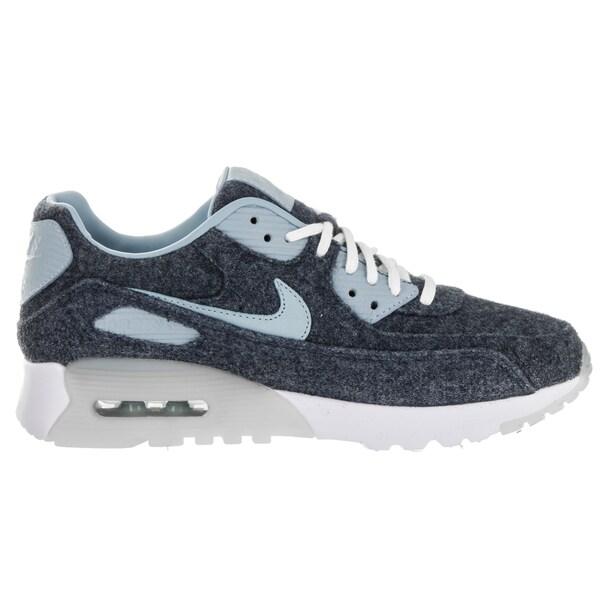 Shop Nike Women's Air Max 90 Blue Running Shoes Free