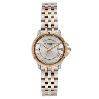 Raymond Weil Tango Stainless Steel and Rose Gold PVD Coated Women's Watch