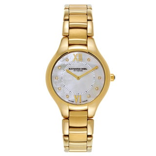 Raymond Weil Noemia Yellow Gold PVD Coated Women's Watch