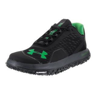 Under Armour Men's UA Fat Tire Black Textile Low Night Running Shoes