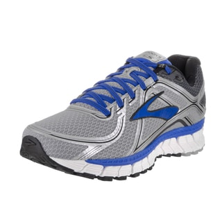 Brooks Men's Adrenaline GTS 16 Silver Wide Running Shoes