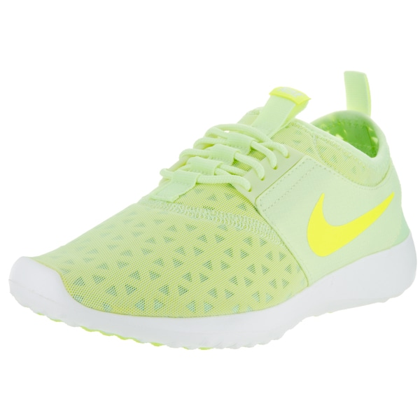 b71e7f0489fcd Shop Nike Women's Juvenate Green Mesh Running Shoes - Free Shipping ...