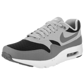 Nike Men's Air Max 1 Ultra Essential Grey Textile Running Shoes