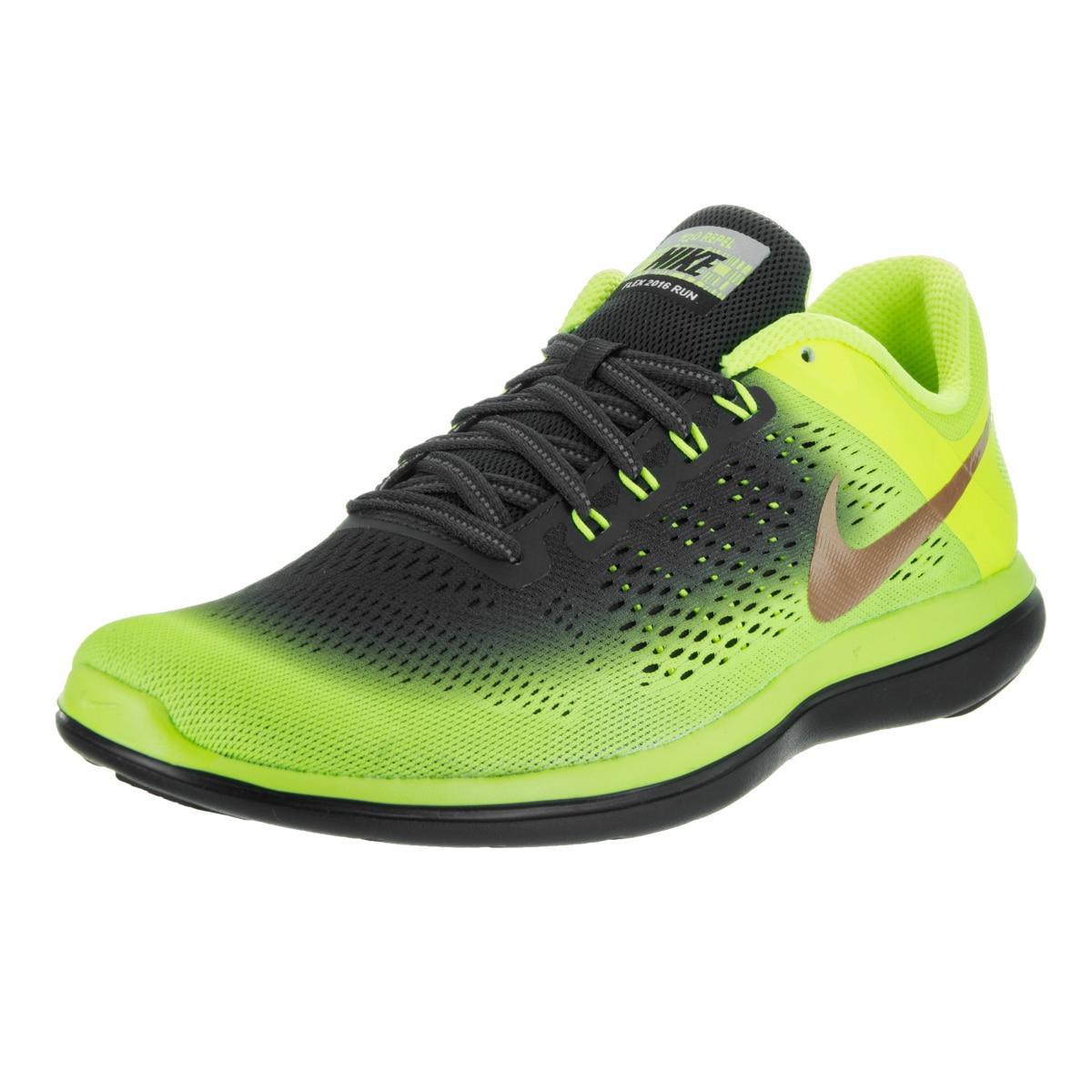 Entrada voluntario Engaño  Nike Men's Flex 2016 Rn Shield Running Shoes - Overstock - 13476374