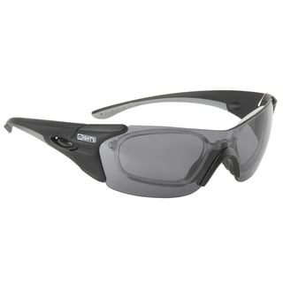 Ventura Z57 Black Rayon Optical Sport Sunglasses