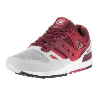Saucony Men's Grid SD Red Suede Running Shoe