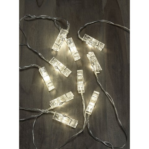 Apothecary LED String Lights with Novelty Clips