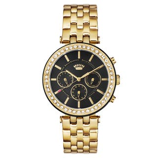 Juicy Couture Ladies' Gold and Stainless Steel Watch|https://ak1.ostkcdn.com/images/products/13476397/P20162840.jpg?impolicy=medium