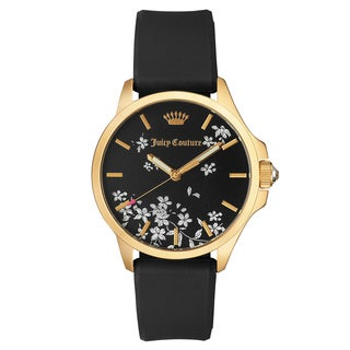 Juicy Couture Jetsetter Stainless Steel Ion Plated Women's Watch