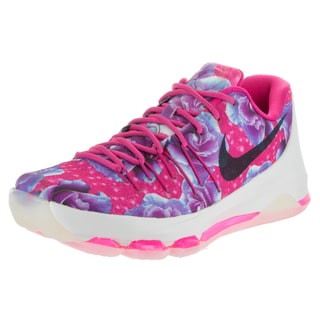 Nike Men's Pink Synthetic Leather Kevin Durant Basketball Shoe
