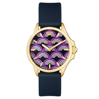 Juicy Couture Stainless Steel Women's Silicone Strap Japanese Quartz Watch