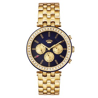 Juicy Couture Venice Yellow Gold Ion Plated Women's Watch