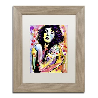 Dean Russo 'Big Girls Don't Cry' Matted Framed Art - Multi